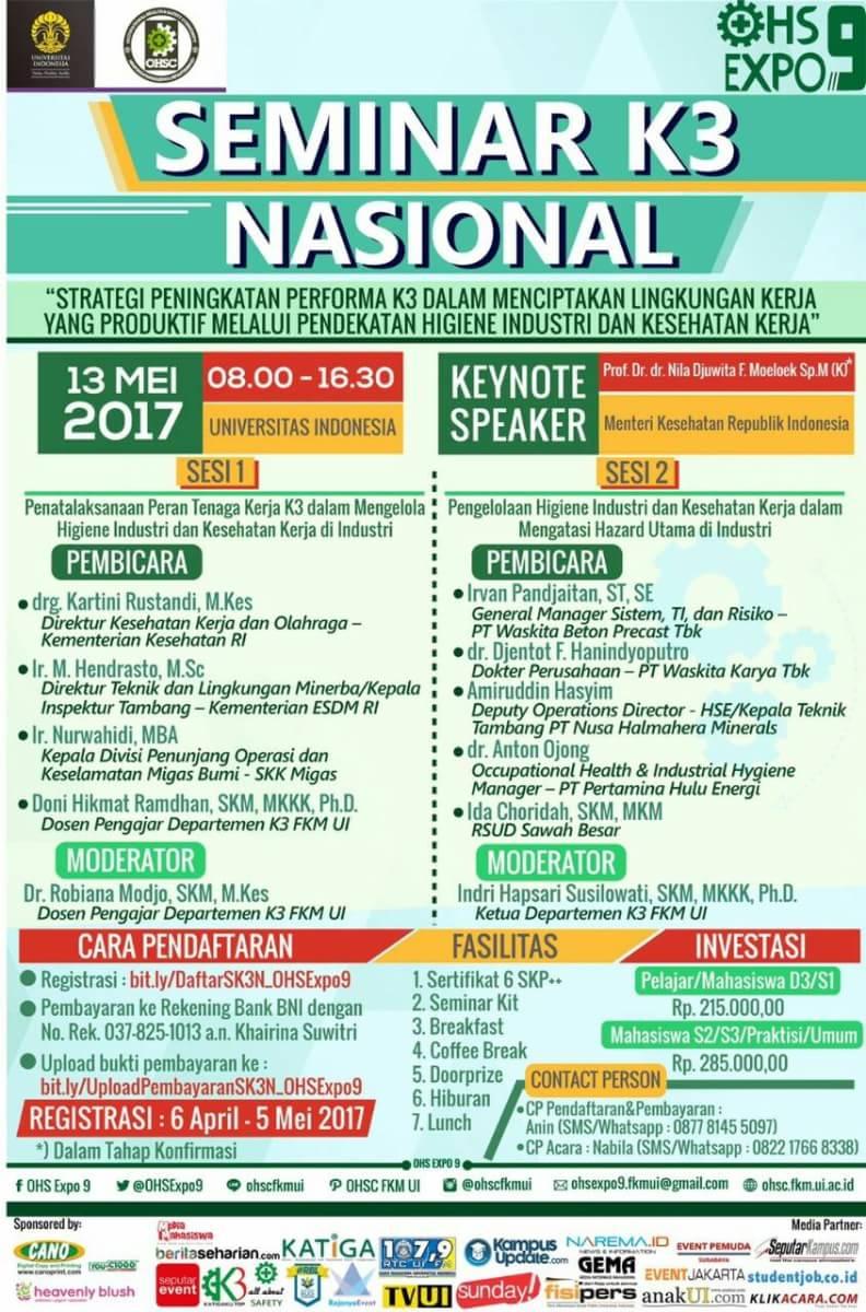 Seminar K3 Nasional