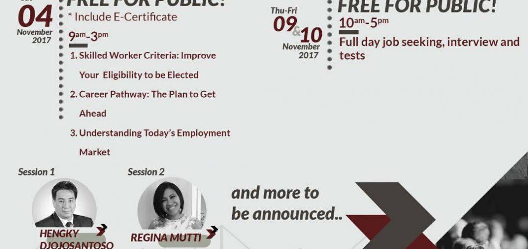 AIESEC UI : LEADTalk and JOBFAIR