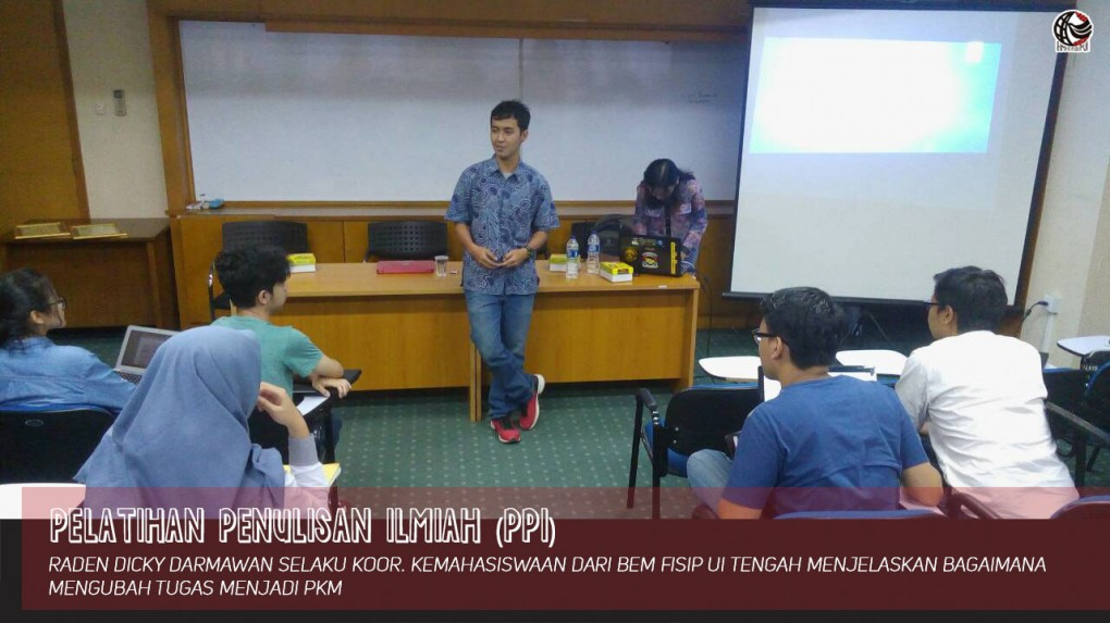 Pelatihan Penulisan Ilmiah (PPI)