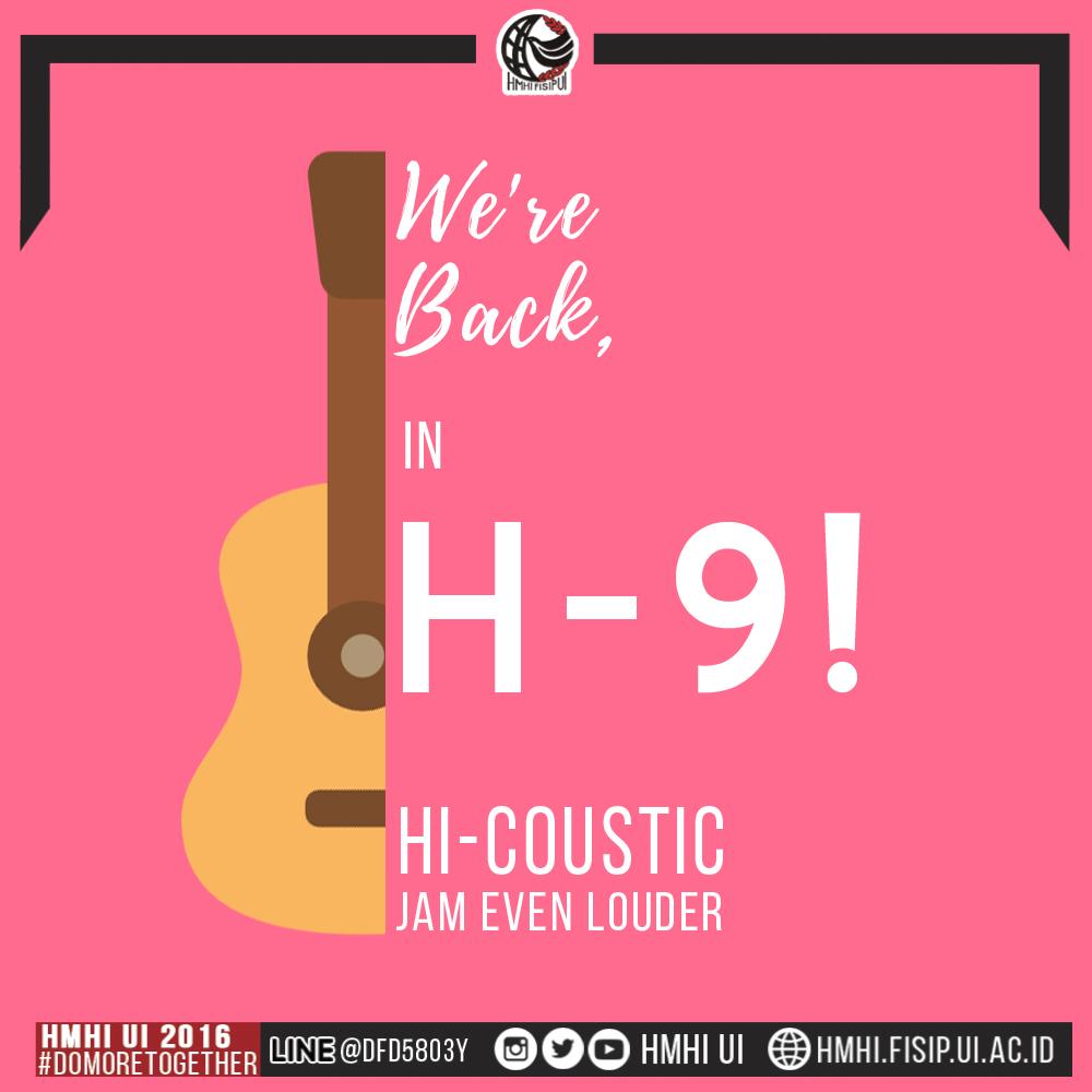 H-9 HI-COUSTIC