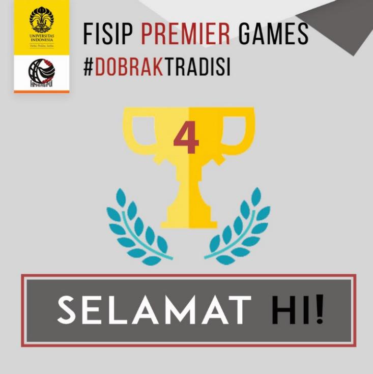 HI Juara 4 FPG 2016!