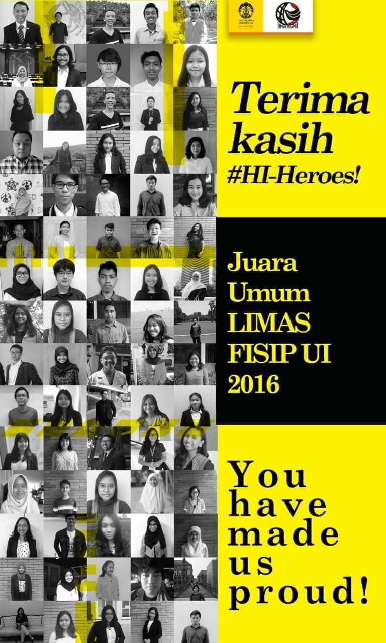 HI UI Juara Umum LIMAS 2016